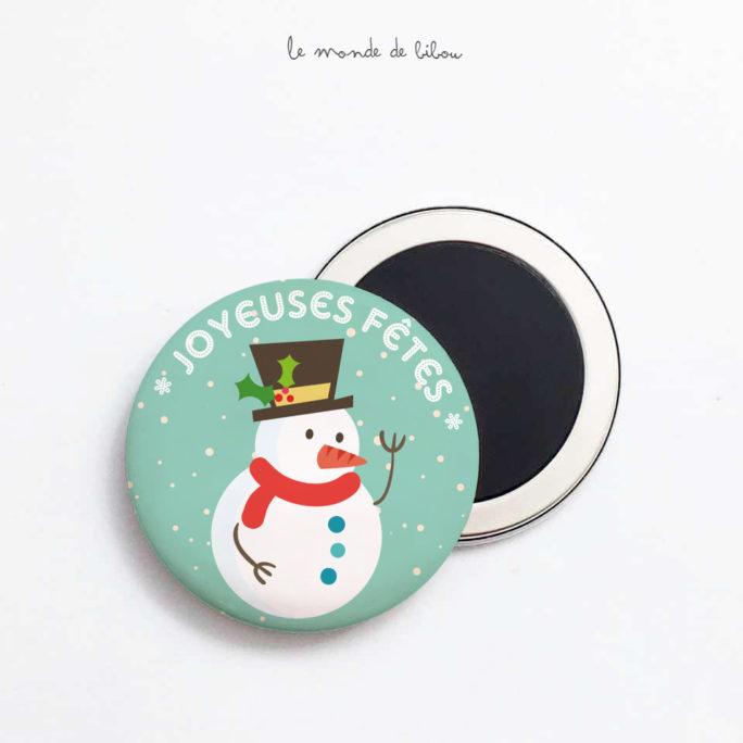 Magnet Joyeuses fêtes