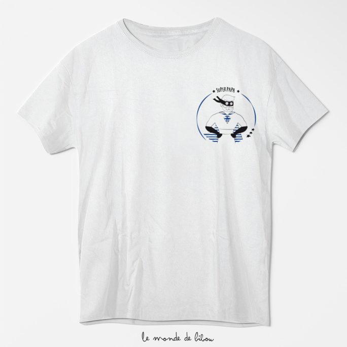 Tee-shirt Super papa