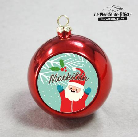 Boule de Noël Père Noël