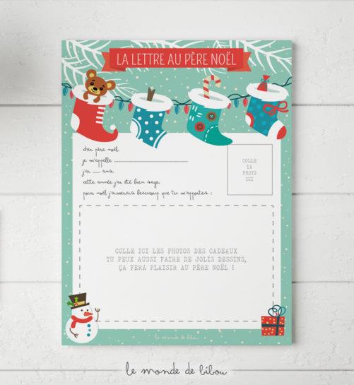 Coffret cadeau de Noël pour enfant