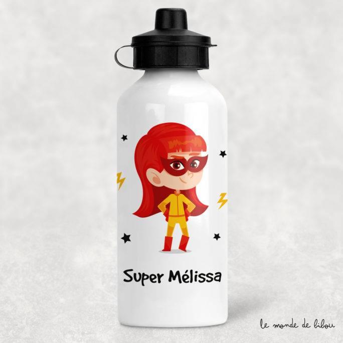 Gourde enfant Super héroïne