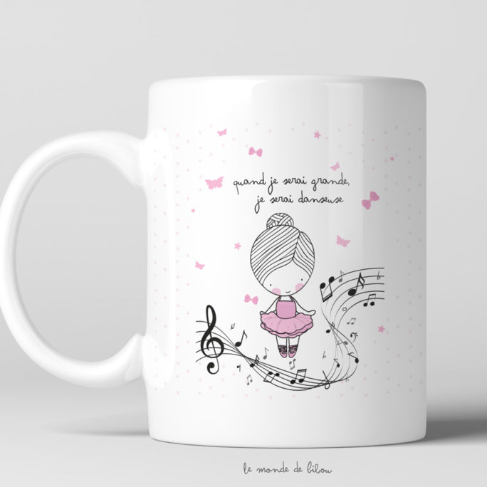 Tasse incassable Danseuse