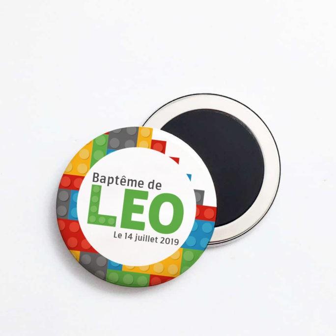 Magnet personnalisé Lego