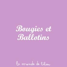Bougies et Ballotins