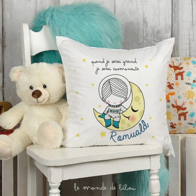 Coussin décoratif Cosmonaute