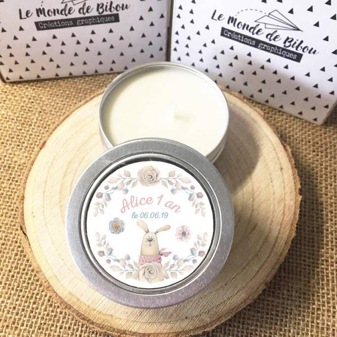 Lot 12 bougies Anniversaire Lapin