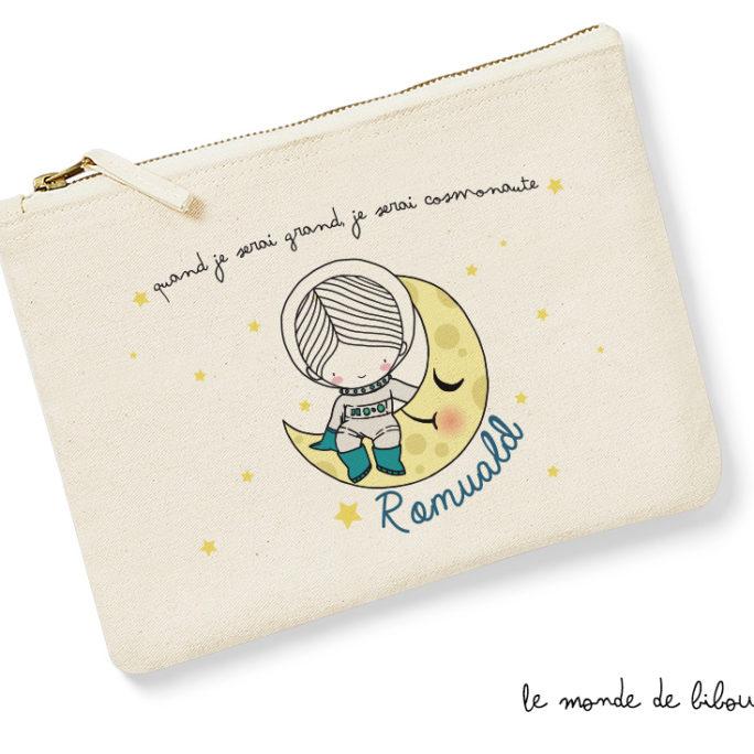 Pochette enfant Cosmonaute