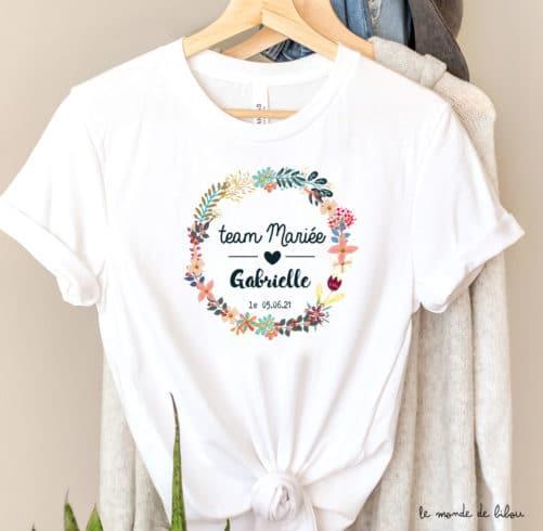 T-shirt EVJF Future mariée