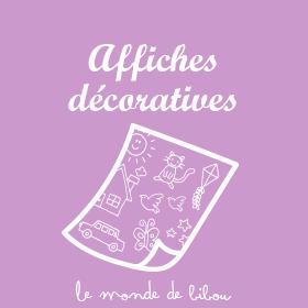 Affiches décoratives