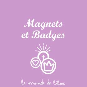 Magnets et Badges Baptême et Communion