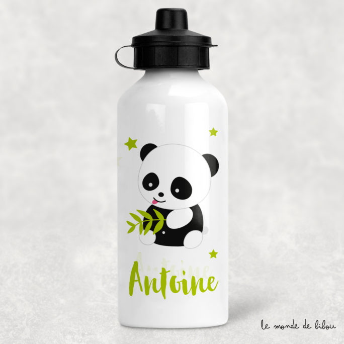 Gourde enfant personnalisée Panda