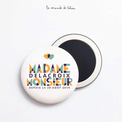 Magnet Mariage Graphic