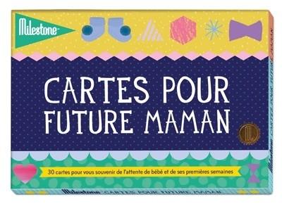 Cartes étapes Pour future maman