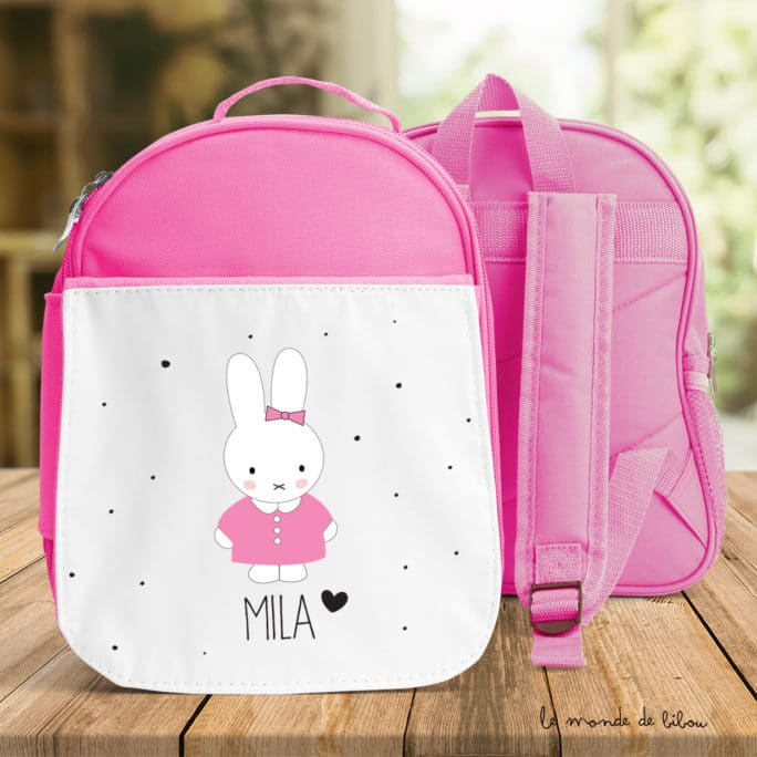 Cartable Lapin fille