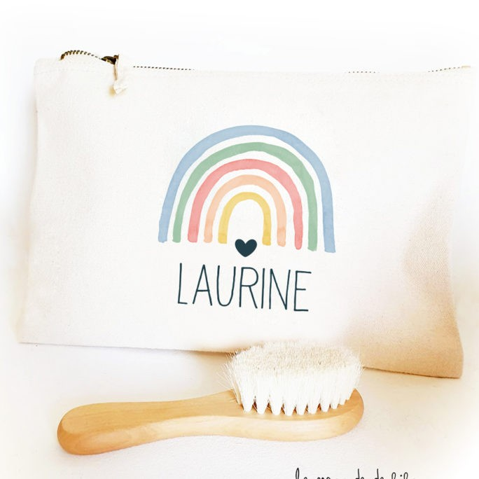 Trousse de toilette Rainbow couleurs