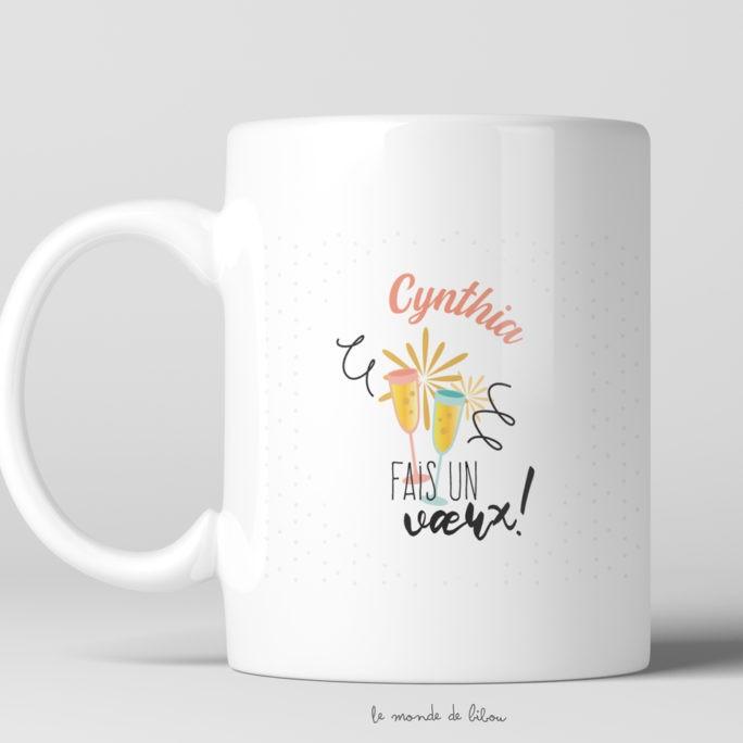 Mug Anniversaire Vœux