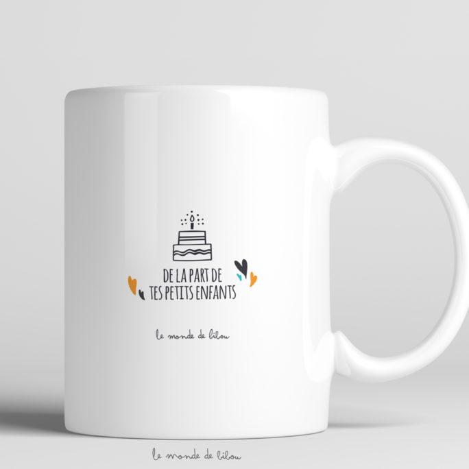 Mug Anniversaire Couronne