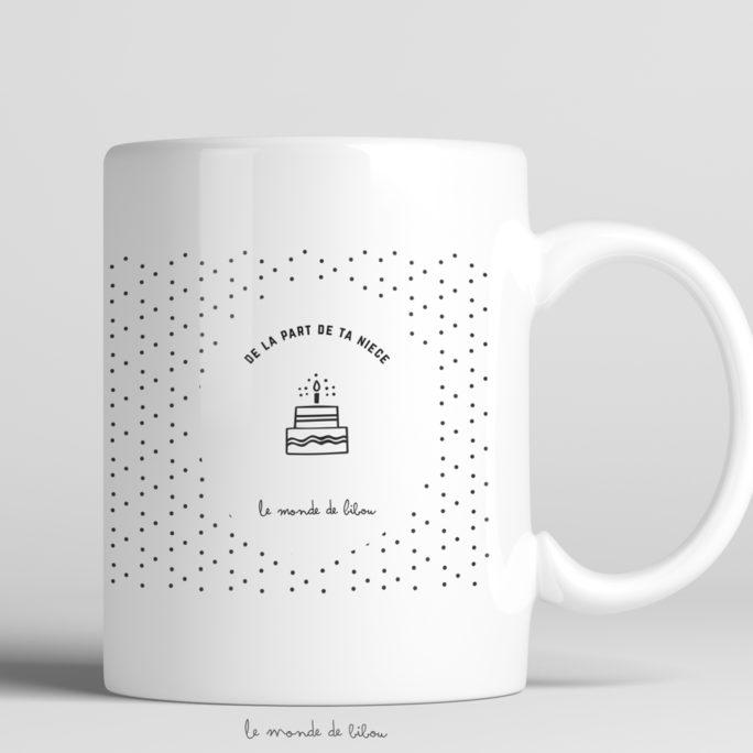 Mug Anniversaire Cuvée prestige