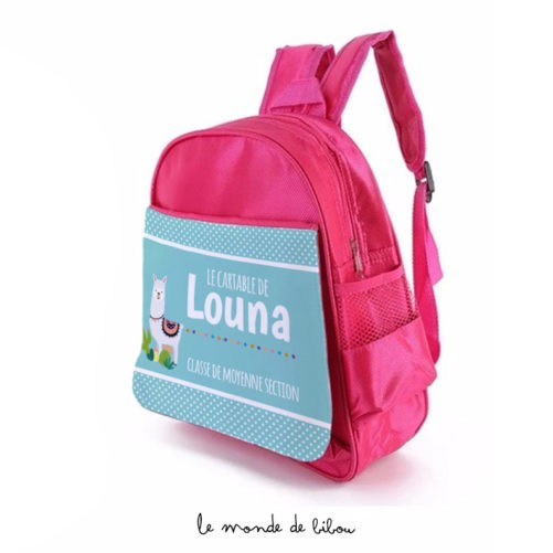 Cartable sac à dos Lama