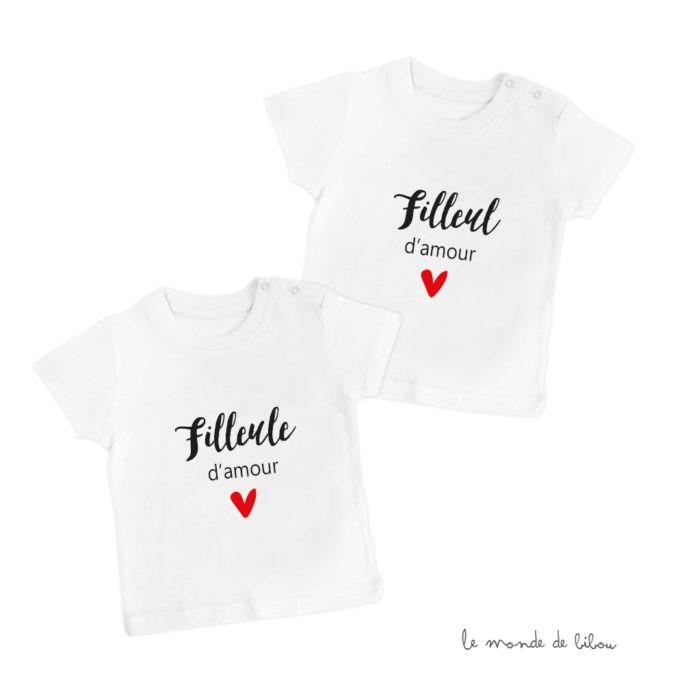 T-Shirt Filleul d'amour