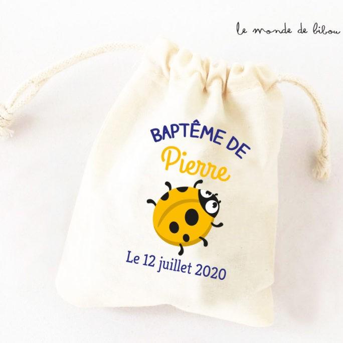 Sac ballotin Coccinelle jaune