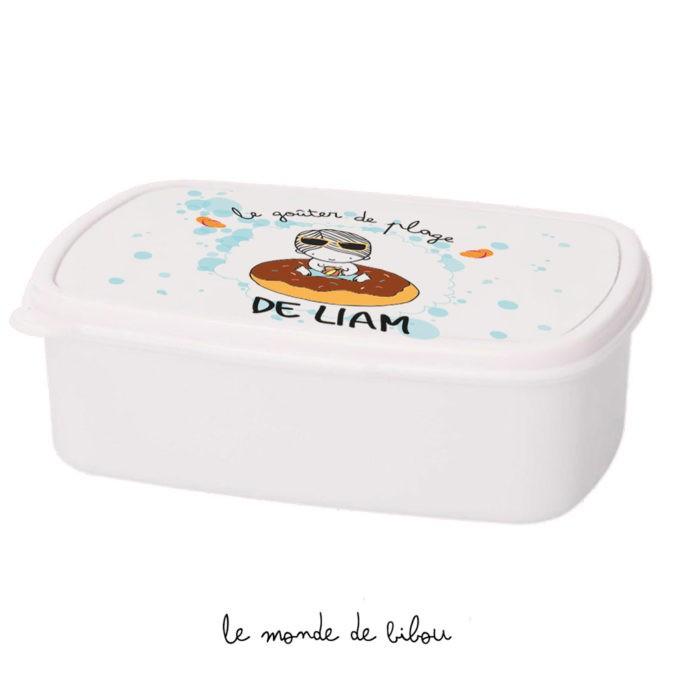 Boîte à Goûter Bouée donut garçon