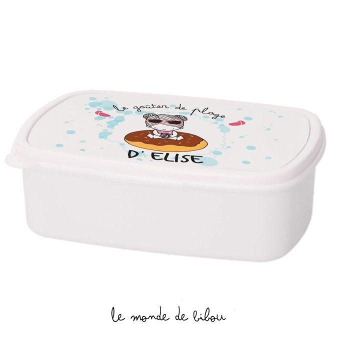 Boîte à Goûter Bouée donut fille