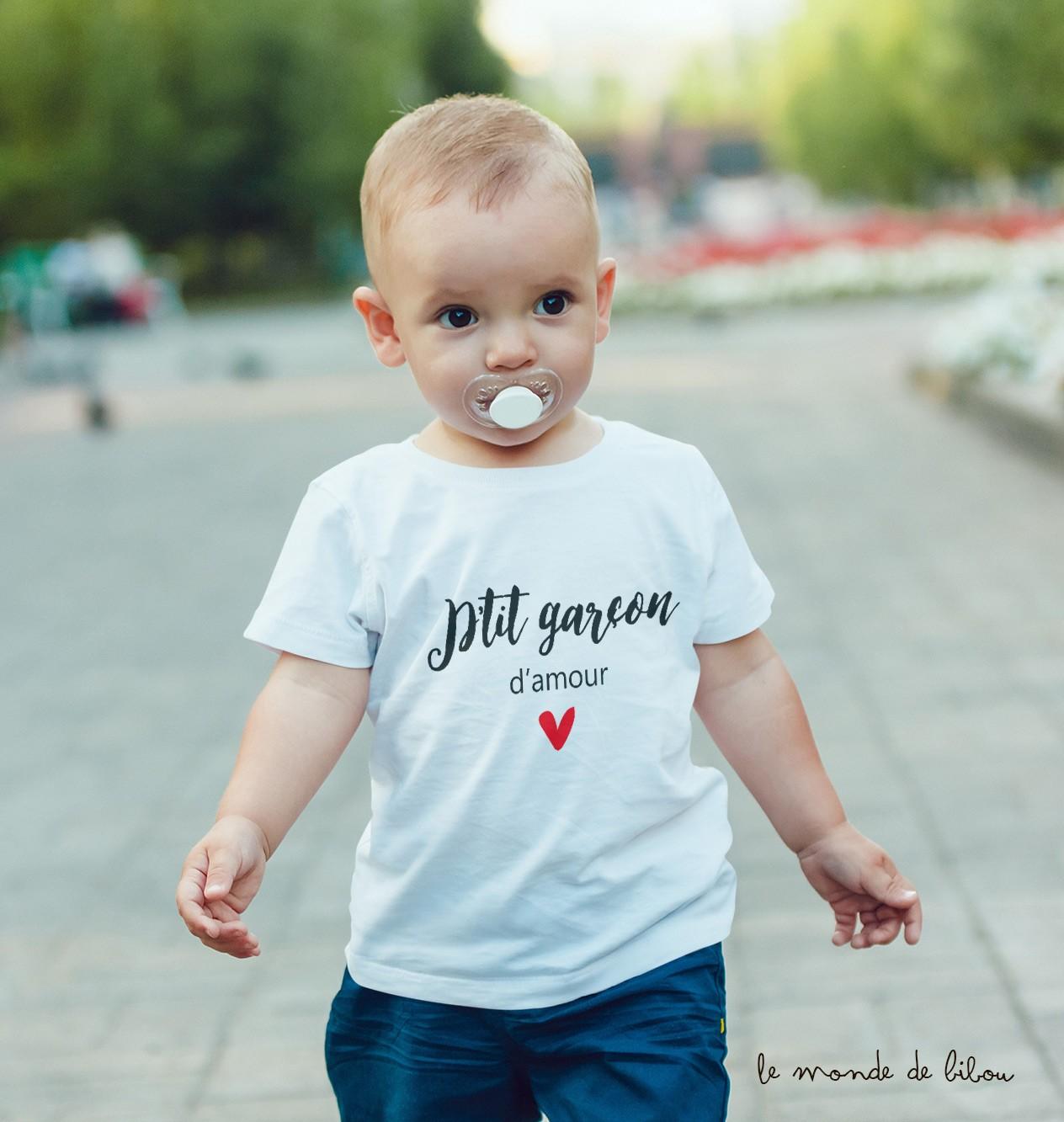 Je suis un garçon maman à être machine à laver Porte Bébé Adulte T-Shirt