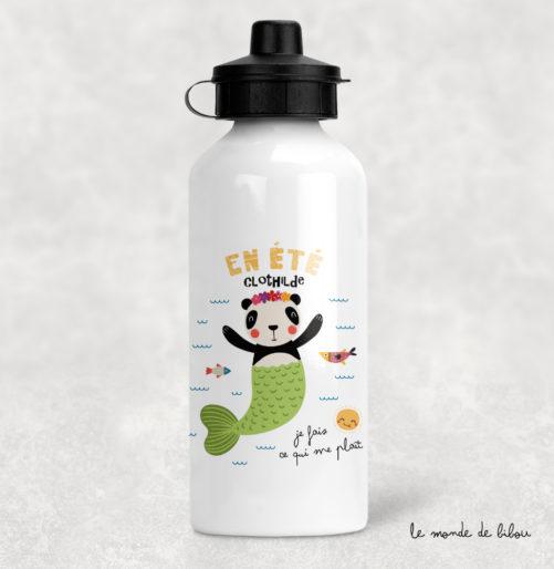 Gourde En été Panda