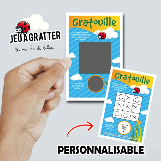 Ticket à gratter Jeu Gratouille
