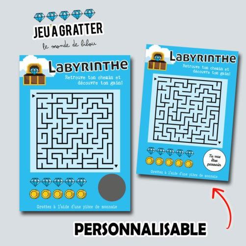 Ticket à gratter Jeu Labyrinthe