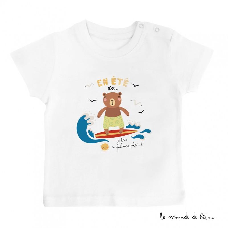 T-Shirt bébé Ours