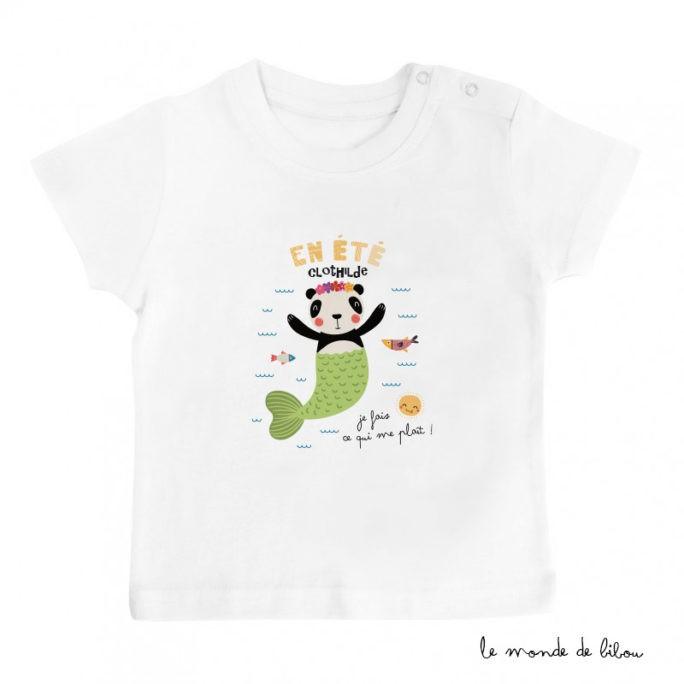 T-Shirt bébé Panda