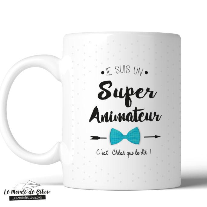 Mug personnalisé cadeau animateur