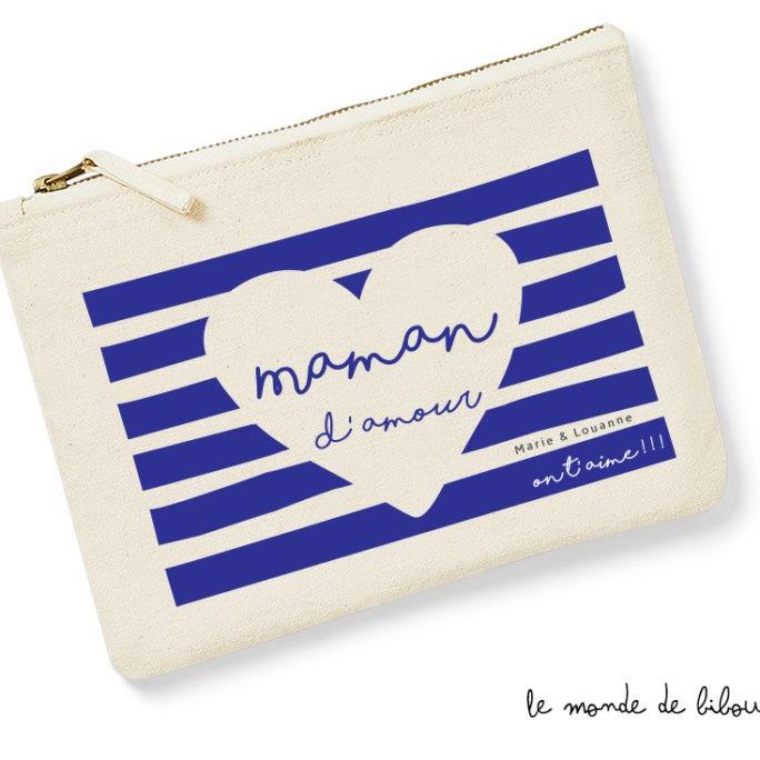 Pochette personnalisée Maman d'amour