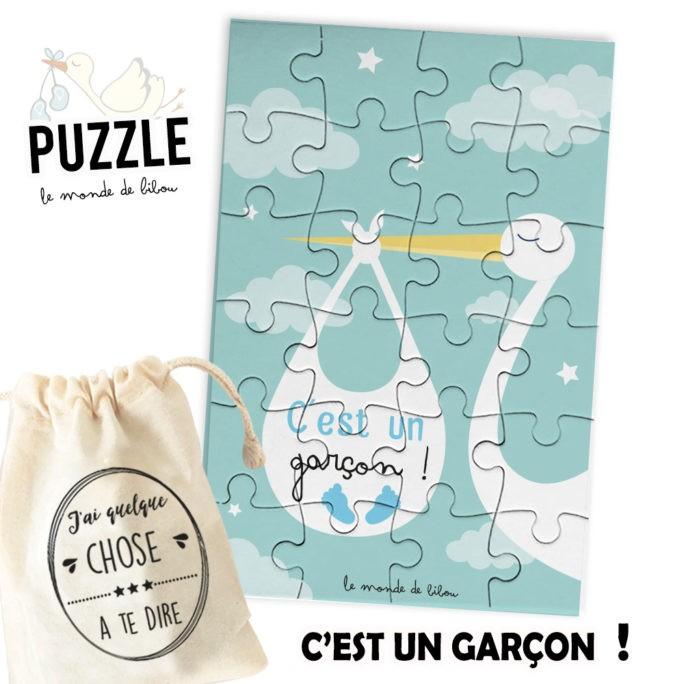 Puzzle Bébé fille ou garçon