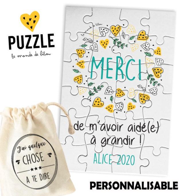 Puzzle Merci Nounou
