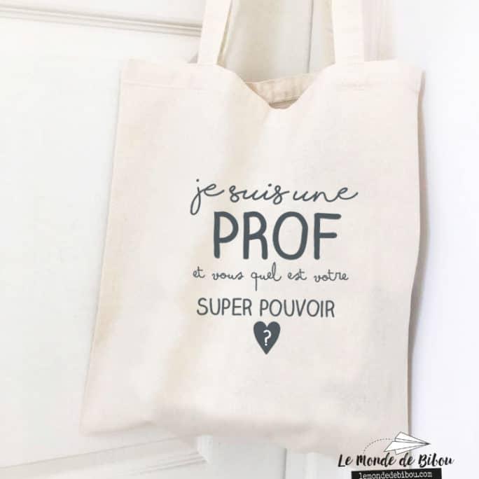 Sac Super pouvoir Prof
