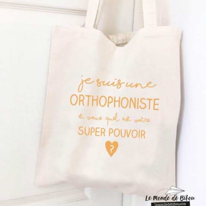 Sac Super pouvoir Orthophoniste