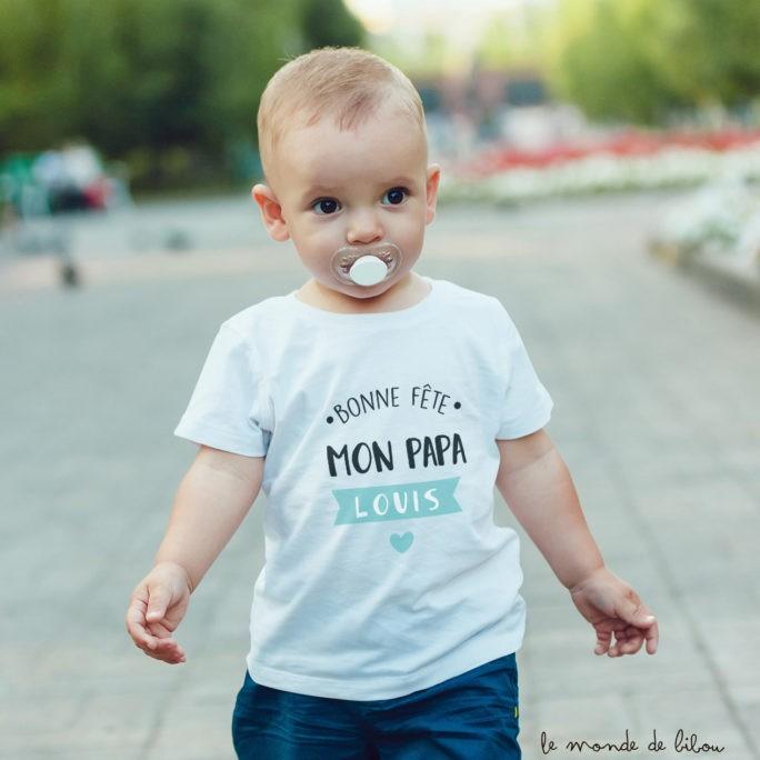 T-shirt enfant Fête des Pères