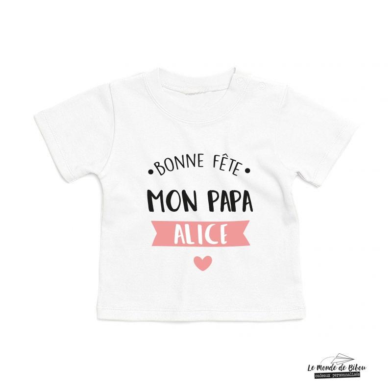T-shirt bébé Fête des Pères - Le Monde de