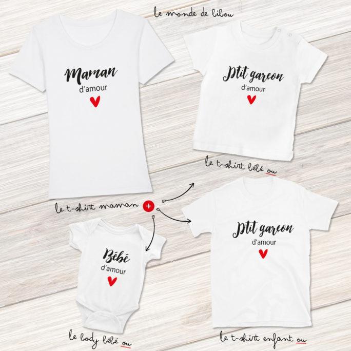 Duo Maman et Petit garçon d'amour