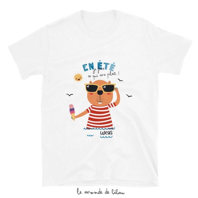 T-Shirt enfant Castor