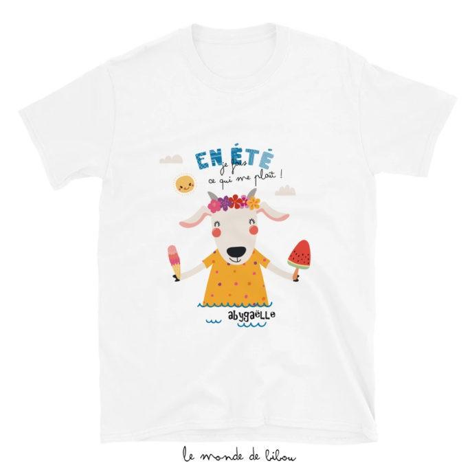 T-Shirt enfant Chèvre