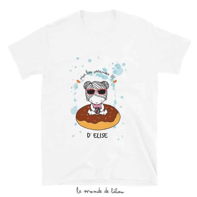 T-Shirt enfant Bouée Donut fille