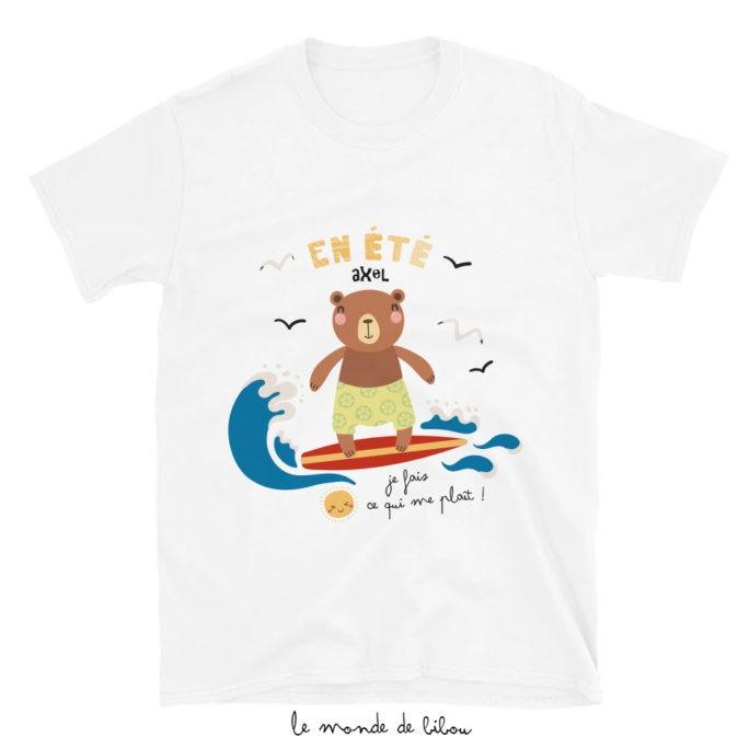 T-Shirt enfant Ours