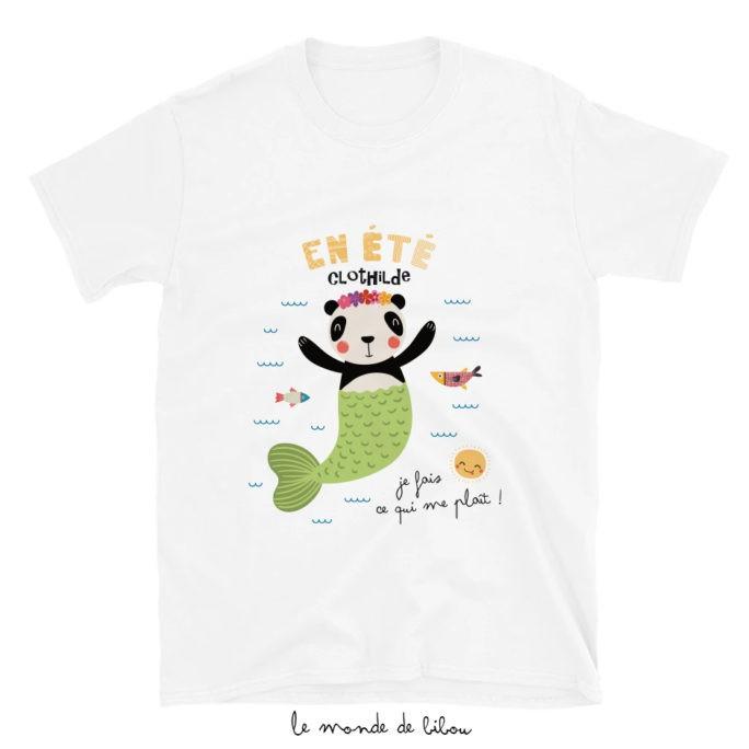 T-Shirt enfant Panda