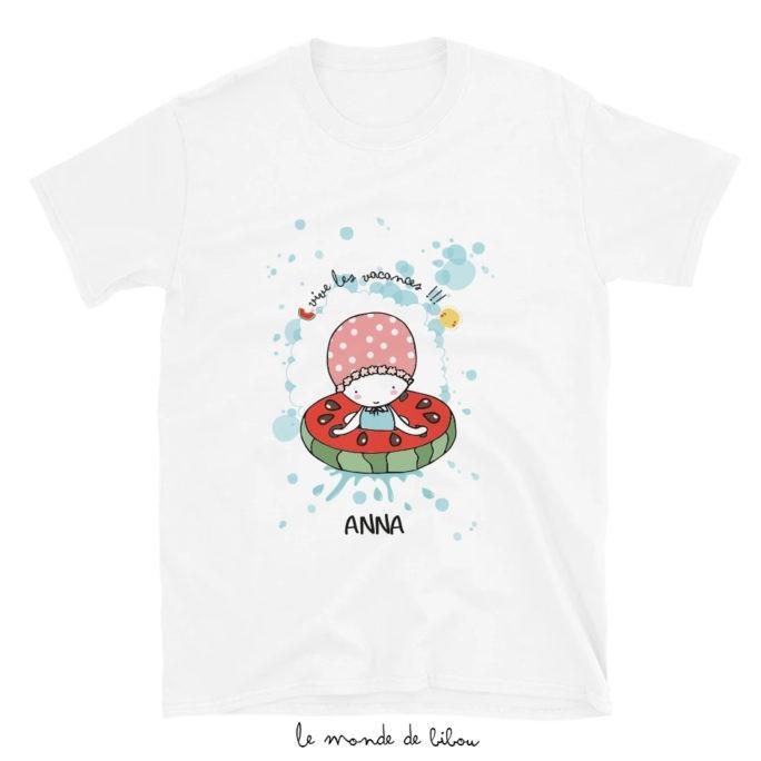 T-Shirt enfant Bouée Pastèque