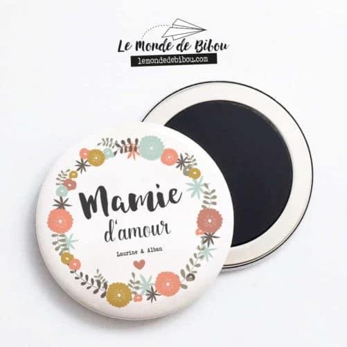 Magnet personnalisé Mamie d'amour