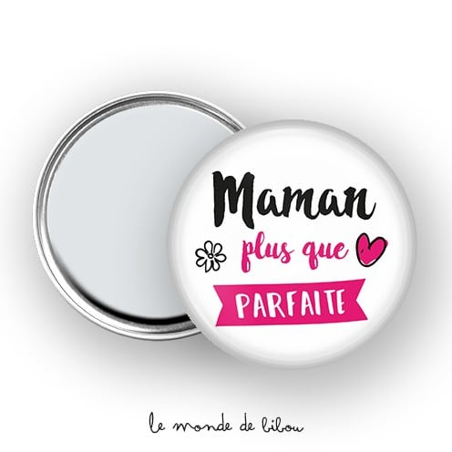 Miroir de poche Maman parfaite
